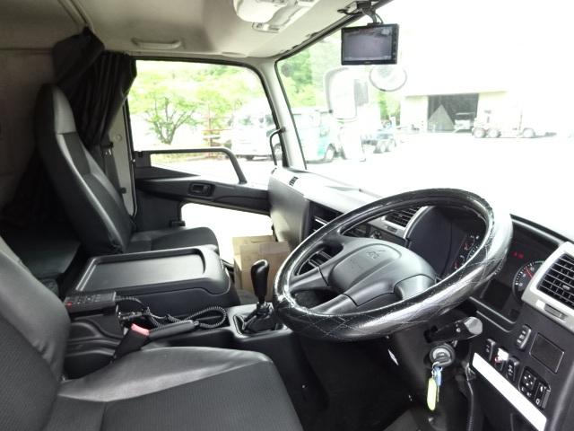 三菱 H30 ファイター ワイド 低温冷凍車 格納PG 画像20