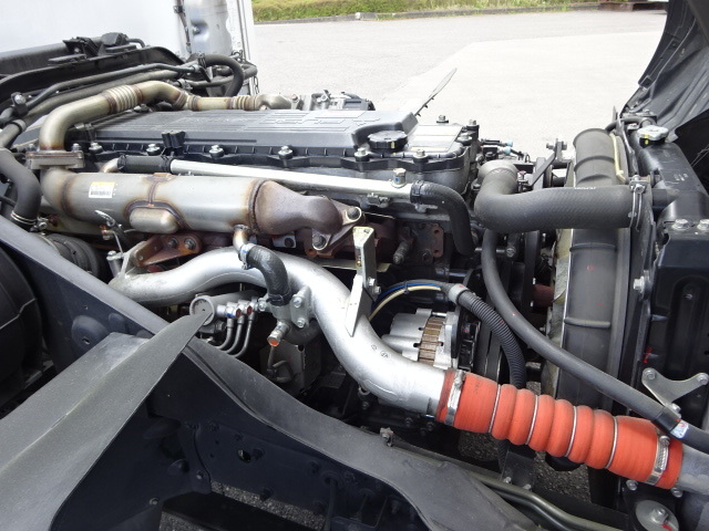 三菱 H30 ファイター ワイド 低温冷凍車 格納PG 画像19