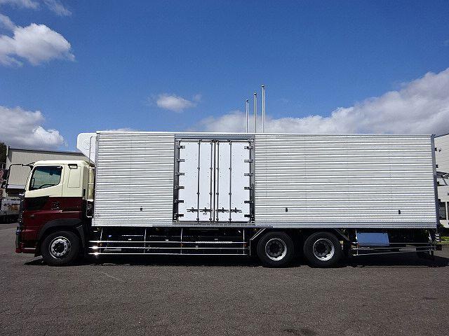 日野 H24 プロフィア 低温冷凍車 車検付 両サイド扉付き 画像4