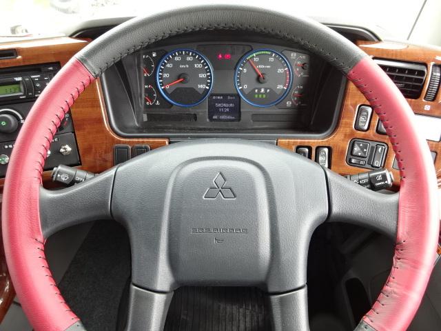 三菱 H29 スーパーグレート冷凍車 キーストン ジョルダー 画像23