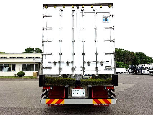 三菱 H29 スーパーグレート冷凍車 キーストン ジョルダー 画像8