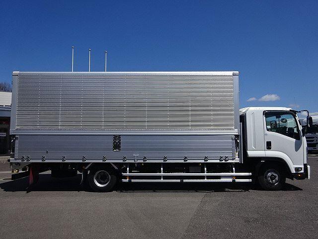 いすゞ H29 フォワード ワイド アルミウィング エアサス 車検付 画像5