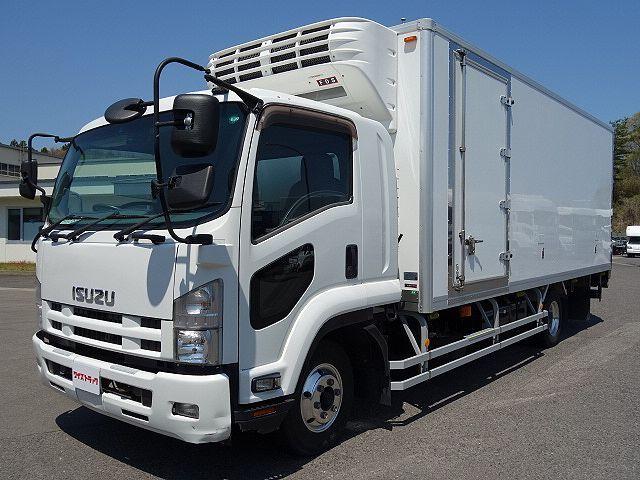 いすゞ H26 フォワード ワイド 低温冷凍車 PG 車検付 画像1