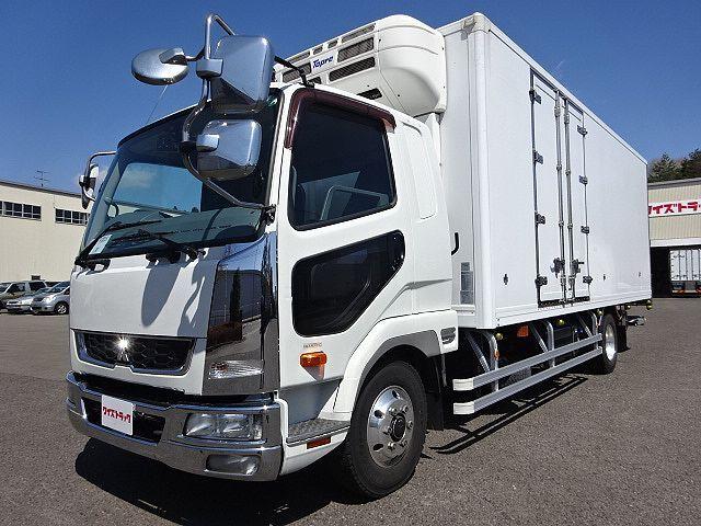 三菱 H24 ファイター 低温冷凍車 エアサス キーストン格納PG
