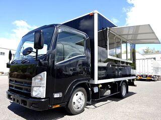 H22 エルフ キッチンカー 移動販売車