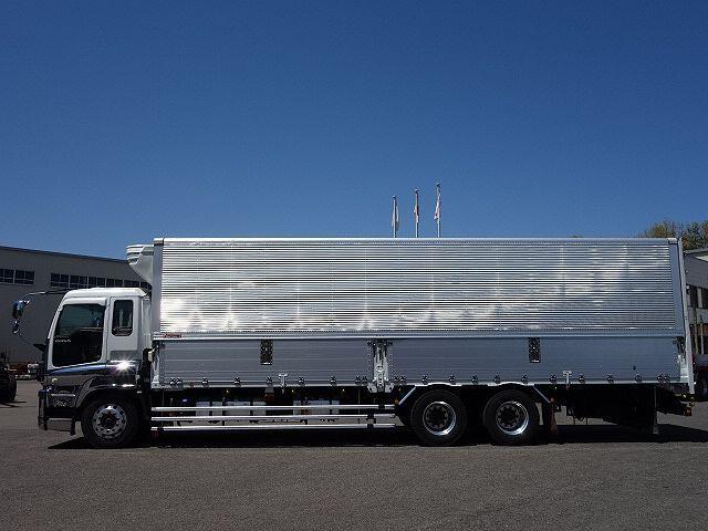 いすゞ H27 ギガ 中温冷凍ウィング 車検付 画像4