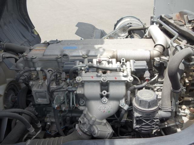 三菱 H22 ファイター 増トン ワイド 家畜運搬車 スロープ付 画像24