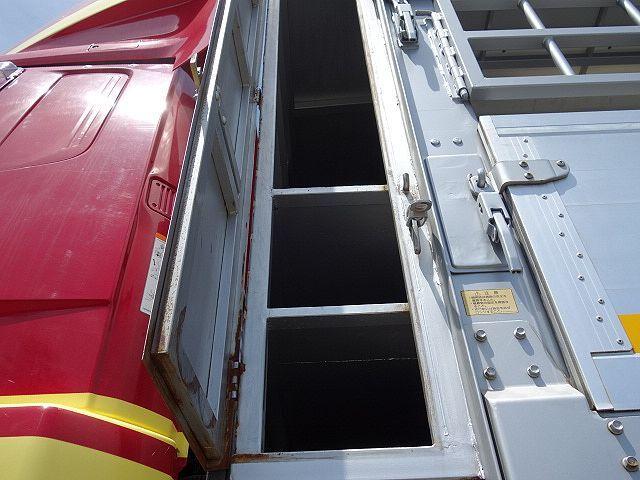 三菱 H22 ファイター 増トン ワイド 家畜運搬車 スロープ付 画像11