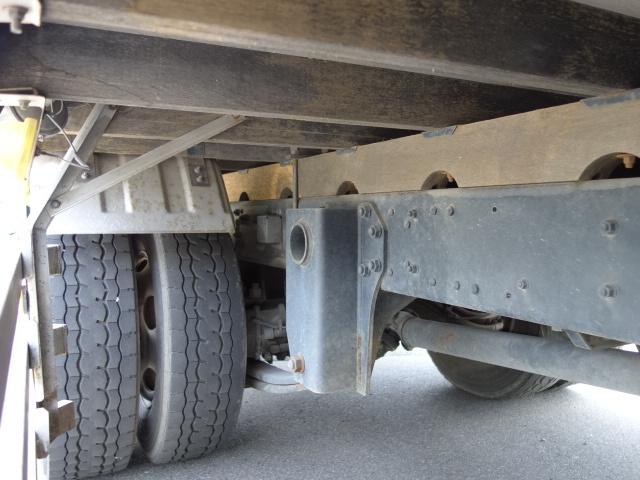 三菱 H22 ファイター 増トン ワイド 家畜運搬車 スロープ付 画像22