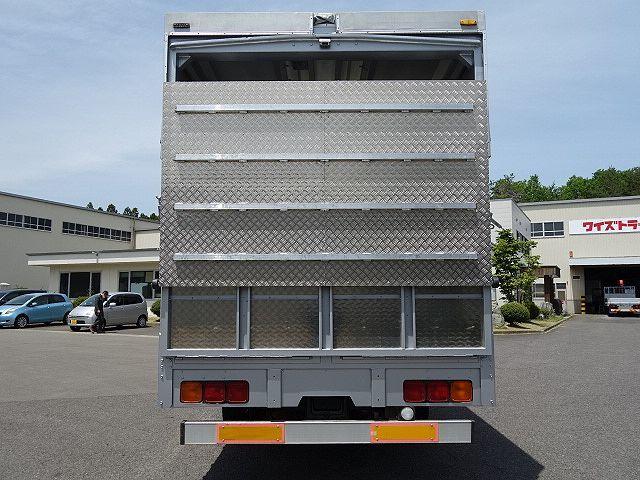 三菱 H22 ファイター 増トン ワイド 家畜運搬車 スロープ付 画像7