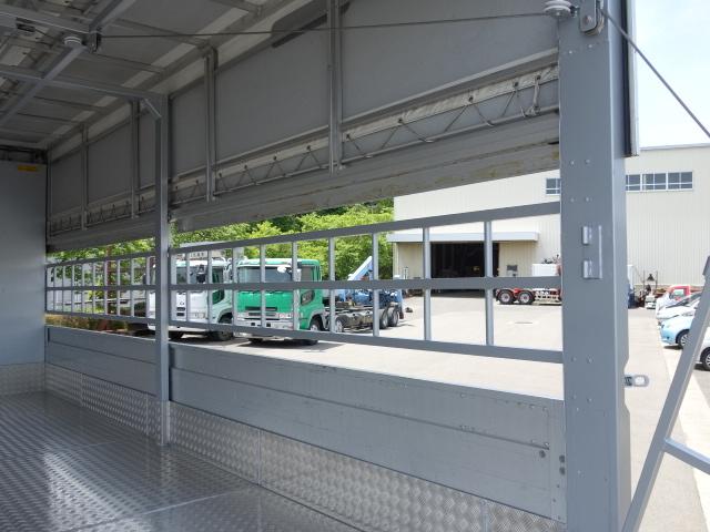 三菱 H22 ファイター 増トン ワイド 家畜運搬車 スロープ付 画像16
