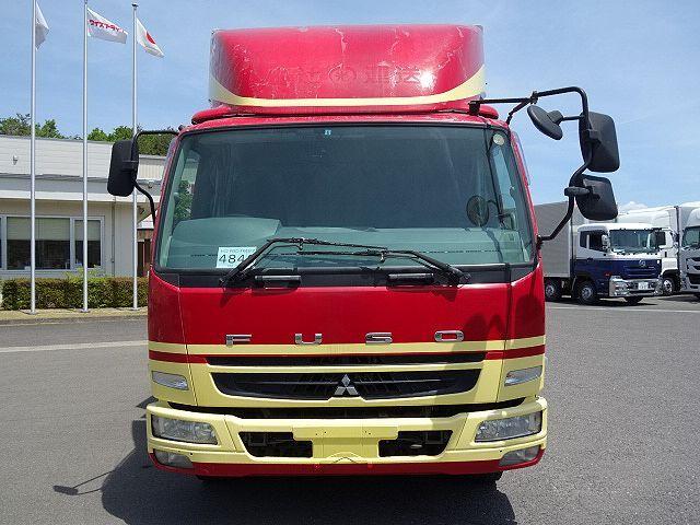 三菱 H22 ファイター 増トン ワイド 家畜運搬車 スロープ付 画像2