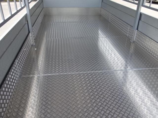 三菱 H22 ファイター 増トン ワイド 家畜運搬車 スロープ付 画像17