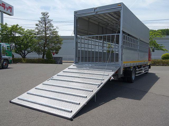 三菱 H22 ファイター 増トン ワイド 家畜運搬車 スロープ付 画像9
