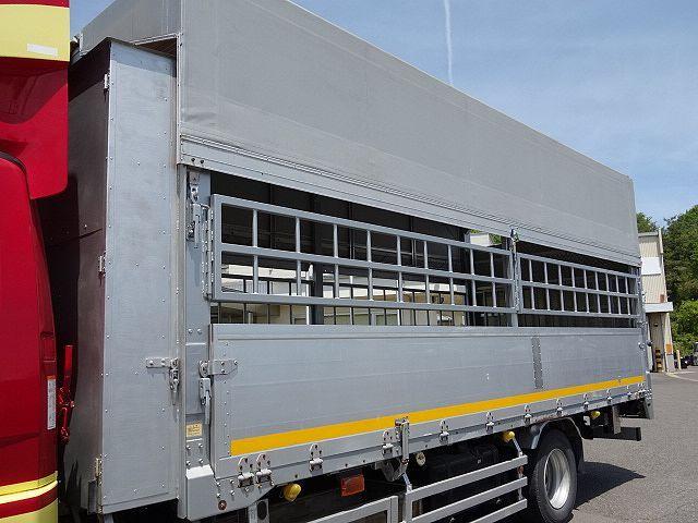 三菱 H22 ファイター 増トン ワイド 家畜運搬車 スロープ付 画像10