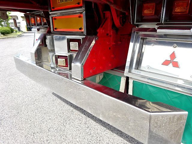 三菱 H14 スーパーグレート ロングダンプ 画像18