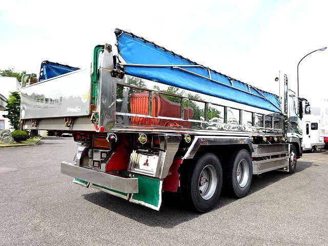 三菱 H14 スーパーグレート ロングダンプ 画像7
