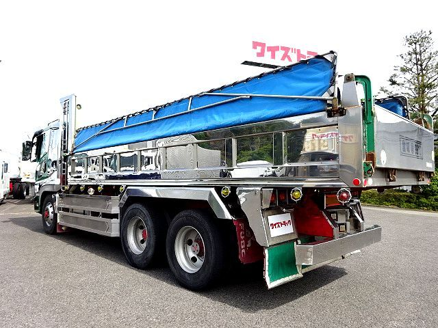 三菱 H14 スーパーグレート ロングダンプ 画像9