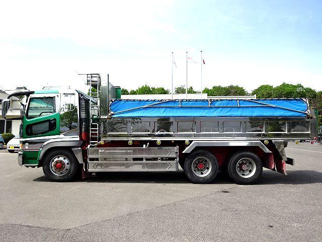 三菱 H14 スーパーグレート ロングダンプ 画像5