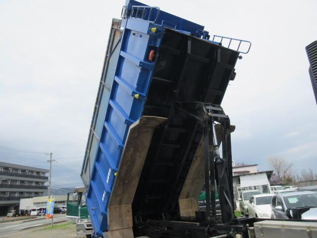 三菱 H27 スーパーグレート 深ダンプ 15.4㎥ 車検付 画像13
