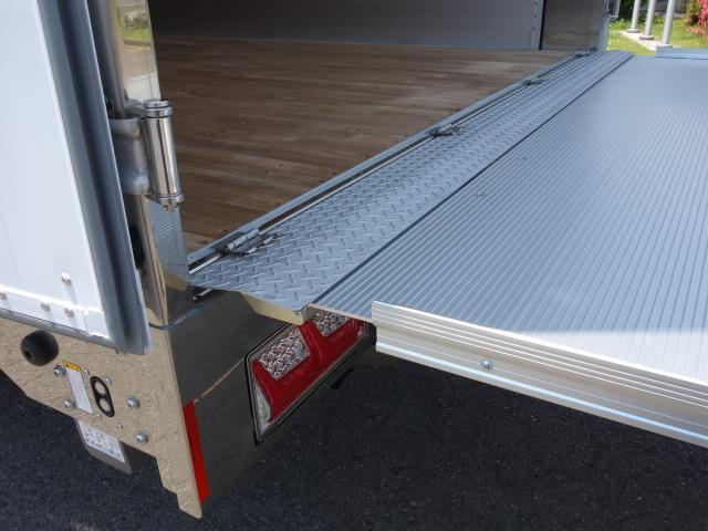 いすゞ R3 ギガ 4軸低床アルミウィング ハイルーフ 融雪仕様 格納PG 画像29