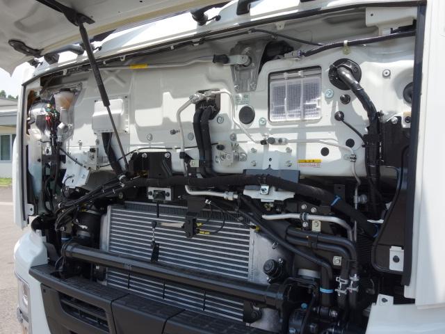 いすゞ R3 ギガ 4軸低床アルミウィング ハイルーフ 融雪仕様 格納PG 画像20