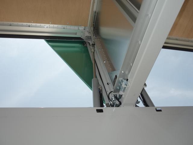 いすゞ R3 ギガ 4軸低床アルミウィング ハイルーフ 融雪仕様 格納PG 画像16