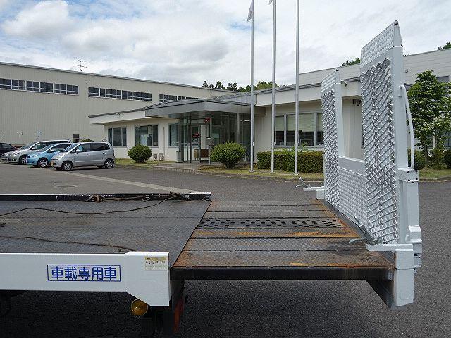 三菱 H17 キャンター ワイド 超ロング セーフティローダー 画像13
