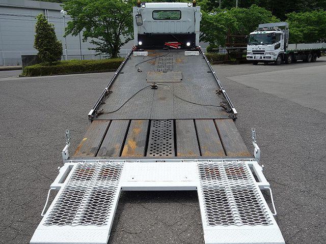 三菱 H17 キャンター ワイド 超ロング セーフティローダー 画像10