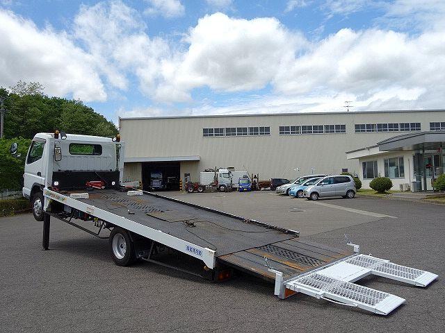 三菱 H17 キャンター ワイド 超ロング セーフティローダー 画像11