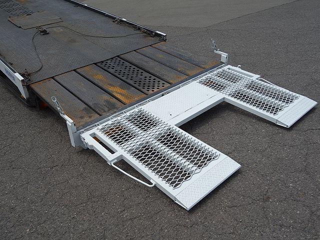 三菱 H17 キャンター ワイド 超ロング セーフティローダー 画像12