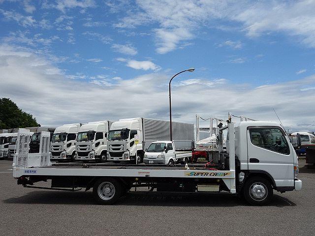 三菱 H17 キャンター ワイド 超ロング セーフティローダー 画像6