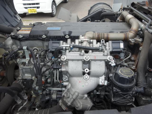 三菱 H26 ファイター  アルミブロック エアサス 画像21