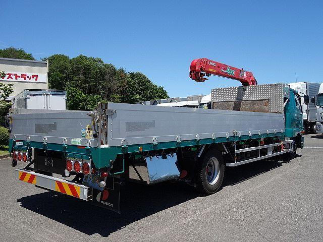 三菱 H25 ファイター 増トン ワイド アルミブロック 4段クレーン 画像7