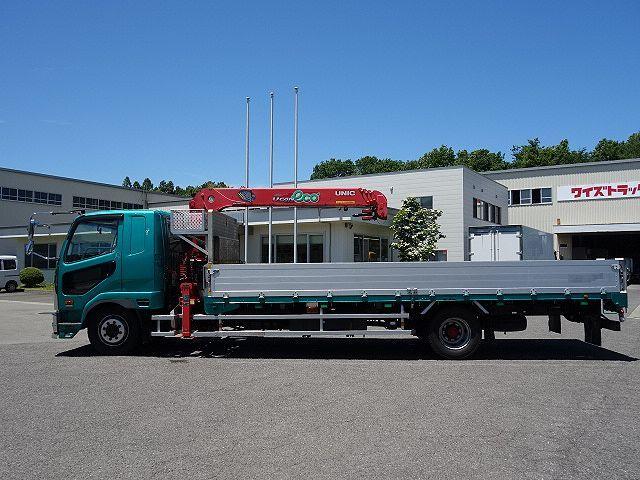 三菱 H25 ファイター 増トン ワイド アルミブロック 4段クレーン 画像5