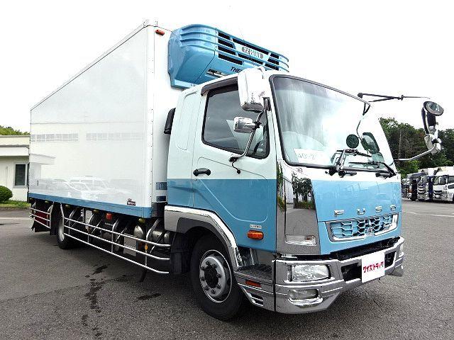 三菱 H25 ファイター 増トン ワイド 低温冷凍車 画像3