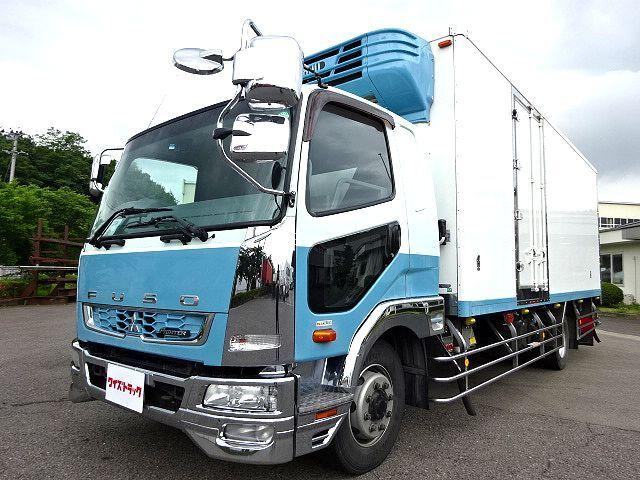 三菱 H25 ファイター 増トン ワイド 低温冷凍車