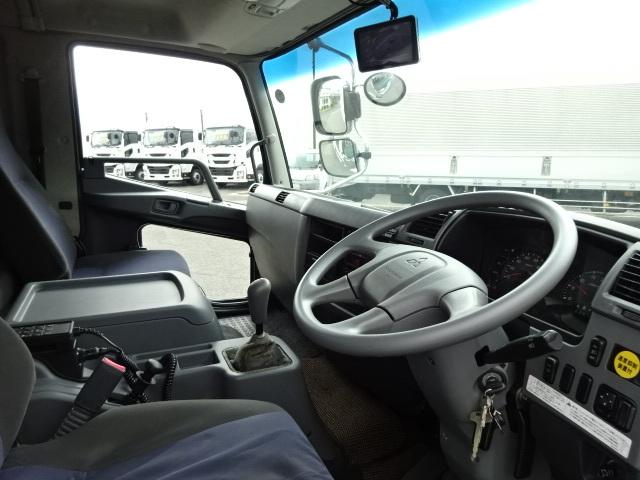 三菱 H25 ファイター 増トン ワイド 低温冷凍車 画像20