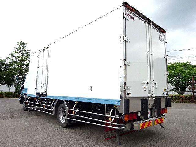 三菱 H25 ファイター 増トン ワイド 低温冷凍車 画像9