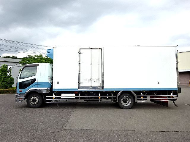 三菱 H25 ファイター 増トン ワイド 低温冷凍車 画像4