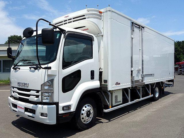 いすゞ H28 フォワード 低温冷凍車 エアサス 格納PG 車検付