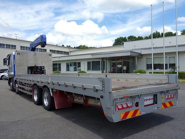 三菱 H27 スーパーグレート セルフ 3段クレーン 車検付 画像7