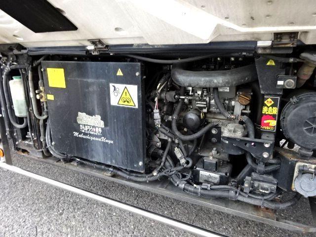 三菱 H23 スーパーグレート ハイルーフ 3軸低温冷凍車 画像13