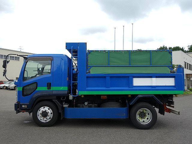 いすゞ H26 フォワード 増トン ダンプ 車検付 画像5