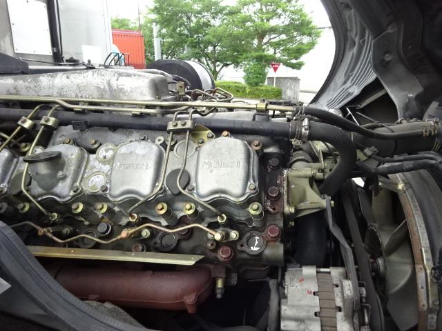 三菱 H17 スーパーグレート 低温冷凍ウィング キーストン 画像20