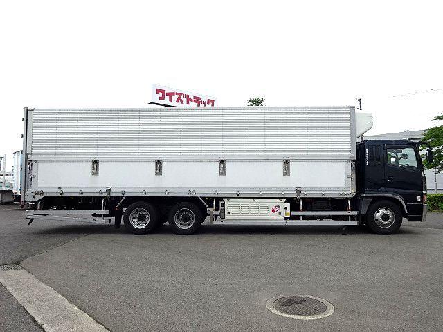 三菱 H17 スーパーグレート 低温冷凍ウィング キーストン 画像5