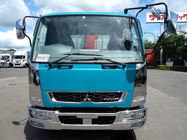三菱 H27 ファイター アルミブロック 4段クレーン 車検付 画像3