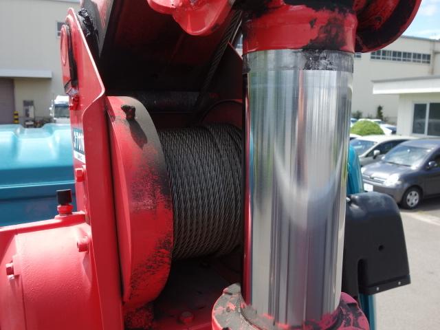 三菱 H27 ファイター アルミブロック 4段クレーン 車検付 画像12
