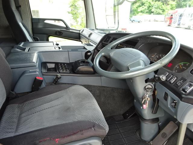三菱 H18 スーパーグレート 4軸低床アルミウィング 格納PG 画像20