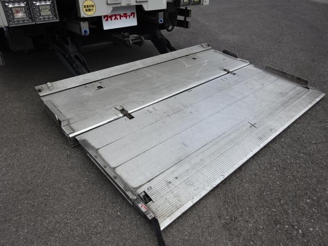 三菱 H18 スーパーグレート 4軸低床アルミウィング 格納PG 画像9